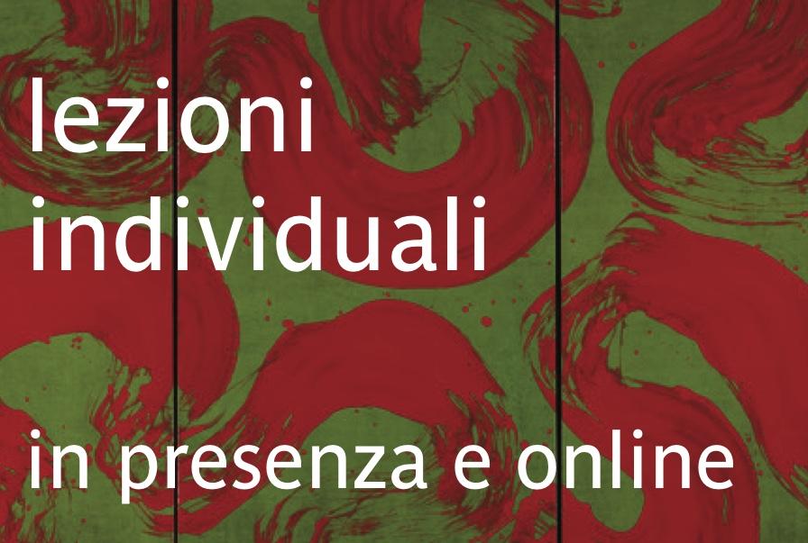 lezioni individuali a da3 o online