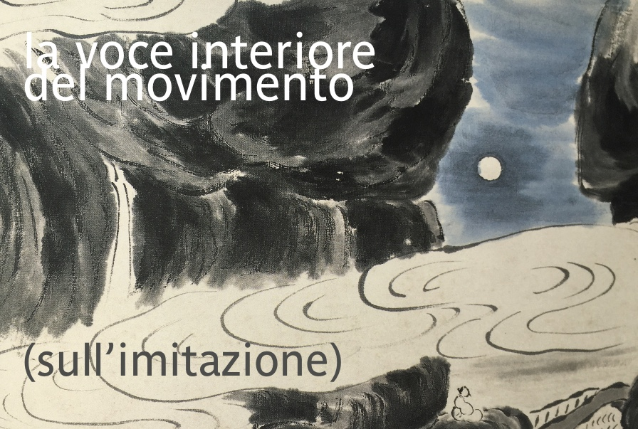 La voce interiore del movimento