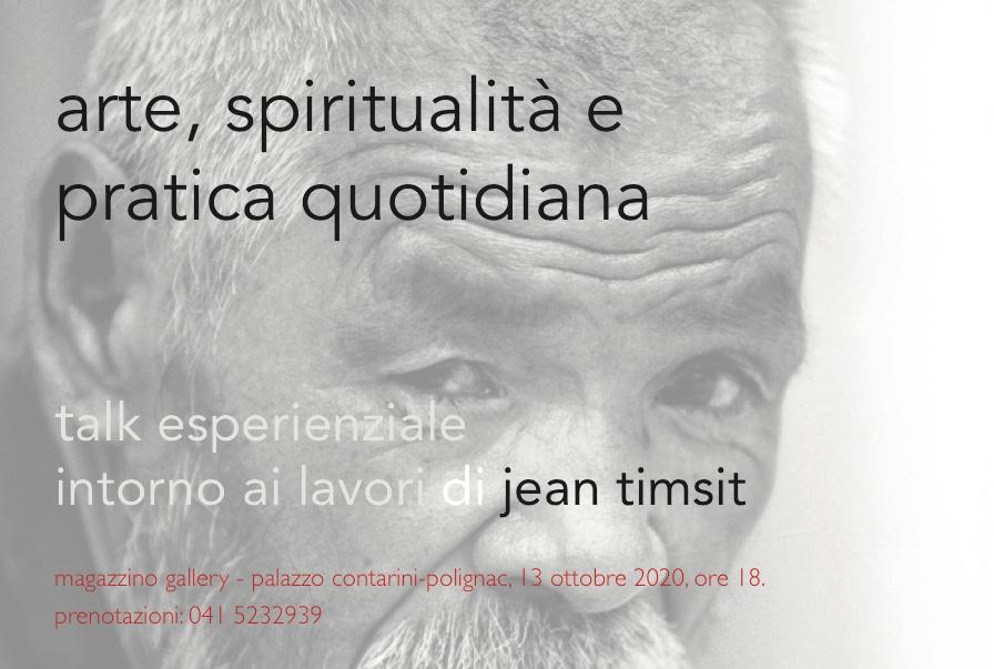 13 ottobre 2020. talk esperienziale a palazzo contarini-polignac.